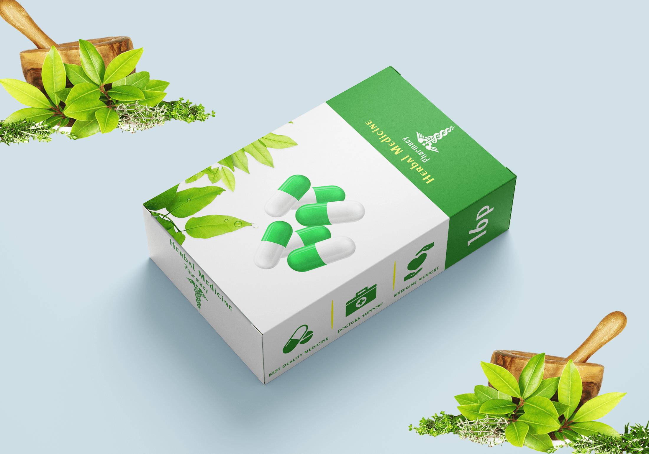 Herbal Medicine Packaging